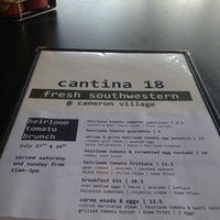 Photo taken at Cantina 18 by Greg S. on 7/27/2013