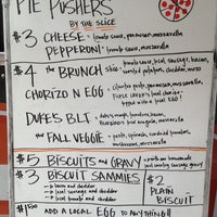Photo taken at Pie Pushers by Greg S. on 10/7/2012