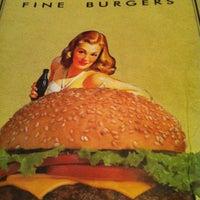Photo taken at Eddie Fine Burgers by Bruno P. on 10/20/2012