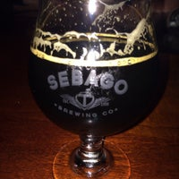 Photo taken at Sebago Brewing Company by Jamie D. on 11/1/2014