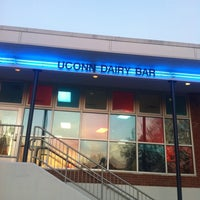 Photo taken at UConn Dairy Bar by Dong Y. on 11/18/2012