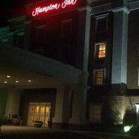 Photo taken at Hampton Inn Easton by Jay C. on 2/9/2014