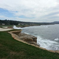 Photo taken at The Lodge at Pebble Beach by George B. on 3/2/2013