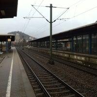 Photo taken at Bahnhof Herrenberg by Oliver T. on 4/11/2013