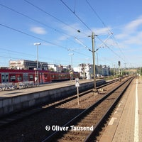 Photo taken at Bahnhof Herrenberg by Oliver T. on 8/12/2013
