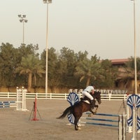Photo taken at Kuwait Riding Center by O Z. on 4/19/2013