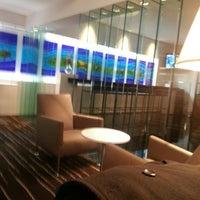 Photo taken at Qantas International Business Lounge by Cheryl L. on 7/11/2013