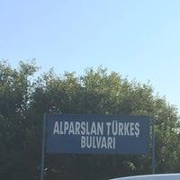 Photo taken at Alparslan Türkeş Bulvarı by Emre B. on 9/10/2016