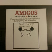 Photo taken at Amigos Tortilla Bar Mexican Restaurant by Amber K. on 4/27/2013