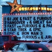 Photo taken at Galaxy Drive In Theatre by Matt C. on 5/26/2013