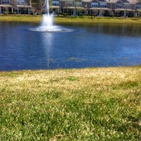 Photo taken at Wolf Creek Lake & Fountain by Laura P. on 3/16/2013