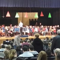Photo taken at Pine Tree Road Auditorium by Stephanie G. on 12/17/2013