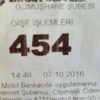 Photo taken at Ziraat Bankası by YılmazZ . on 10/7/2016