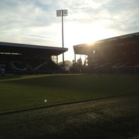 Photo taken at The Cafè At Craven Cottage by Jack W. on 5/27/2013