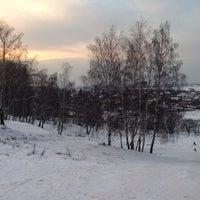 Photo taken at Склон Магес by Сергей К. on 1/27/2014