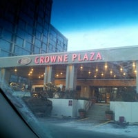 Photo taken at Crowne Plaza Chicago O'Hare Hotel & Conference Center by Moe H. on 2/1/2013