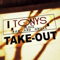 Photo taken at Tony's Place Bar and Grille by Chris S. on 3/27/2013