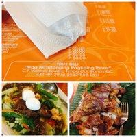 Photo taken at True Deli Cafe by Alyssa Joy G. on 10/26/2015