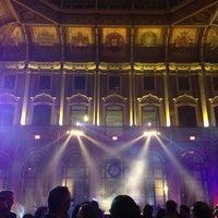 Photo taken at Palácio da Bolsa by Miguel R. on 12/23/2012