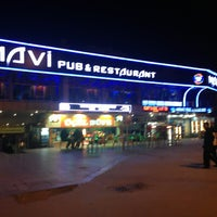 Photo taken at Mavi Pub&Restaurant by Zeynep Ö. on 3/1/2013