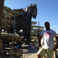 10/28/2012 tarihinde Ahmet Ö.ziyaretçi tarafından Troy Aqua Park'de çekilen fotoğraf