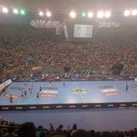 Photo taken at Palacio Vistalegre Arena by Alvaro J. on 4/20/2013