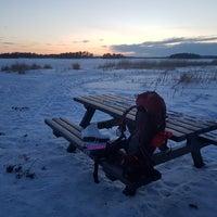 Снимок сделан в Kallahdenniemen uimaranta пользователем Veronika E. 2/25/2018