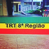 Photo taken at Tribunal Regional do Trabalho da 8ª Região by Herisson L. on 11/23/2012