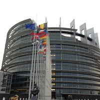 Photo taken at European Parliament by Inga D. on 1/3/2013