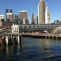 Photo taken at Gate E - Alameda/Oakland/Harbor Bay Ferry Dock by Matt L. on 1/21/2013