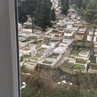 Photo taken at Yeni Mezarlık by Ezgi K. on 2/9/2017