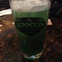 รูปภาพถ่ายที่ The Boynton Restaurant & Spirits โดย Cailie M. เมื่อ 2/25/2013