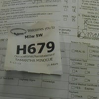 Photo taken at Wisconsin Division of Motor Vehicles (DMV) by Samantha M. on 3/11/2013