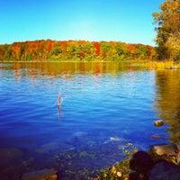 Photo taken at Parc-nature du Bois-de-liesse, Acceuil Pitfield by Christine L. on 10/12/2014