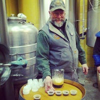 Photo taken at Cascade Brewing Barrel House by Shanon P. on 2/16/2013