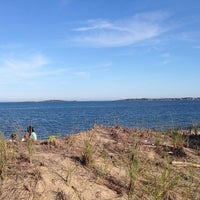 Photo taken at Ferry Beach State Park by David B. on 8/20/2014