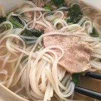 Photo taken at Pho Saigon Pasteur Vietnamese Noodle House by Melanie B. on 11/7/2017