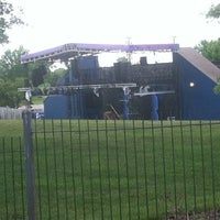 Photo taken at Shawnee Mission Theater In The Park by Michael S. on 5/30/2014