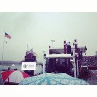 Photo taken at Warren McGuirk Alumni Stadium by Cristina S. on 5/9/2014