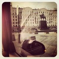 Снимок сделан в Тверская улица пользователем Valeriya K. 5/21/2013