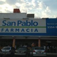 Photo taken at Farmacia San Pablo by CESAR M. on 4/18/2013