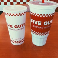 Photo taken at Five Guys by Bobby S. on 7/12/2013