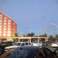 Photo taken at The Desperado Roller Coaster by Carlito W. on 8/25/2014