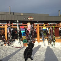 Photo taken at The Maggie at Peak 9 Base by Jeff M. on 3/2/2013