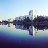 Photo taken at река Новая by atmo .. on 6/22/2013