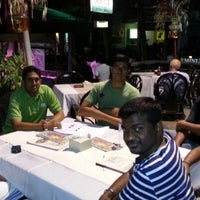 Photo taken at Mini Restaurant & Bar by Karthik R. on 11/26/2012
