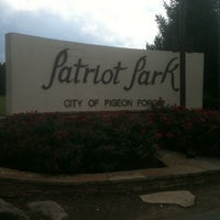 Photo taken at Patriot Park by Steve S. on 9/16/2012