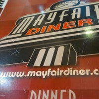 Photo taken at Mayfair Diner by Philly H. on 12/3/2012