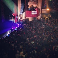 Photo taken at The Warfield Theatre by Rick L. on 12/18/2012