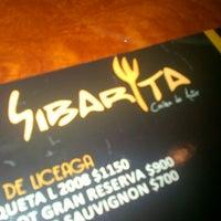 Photo taken at Sibarita Cocina de Autor by Karla G. on 9/23/2012